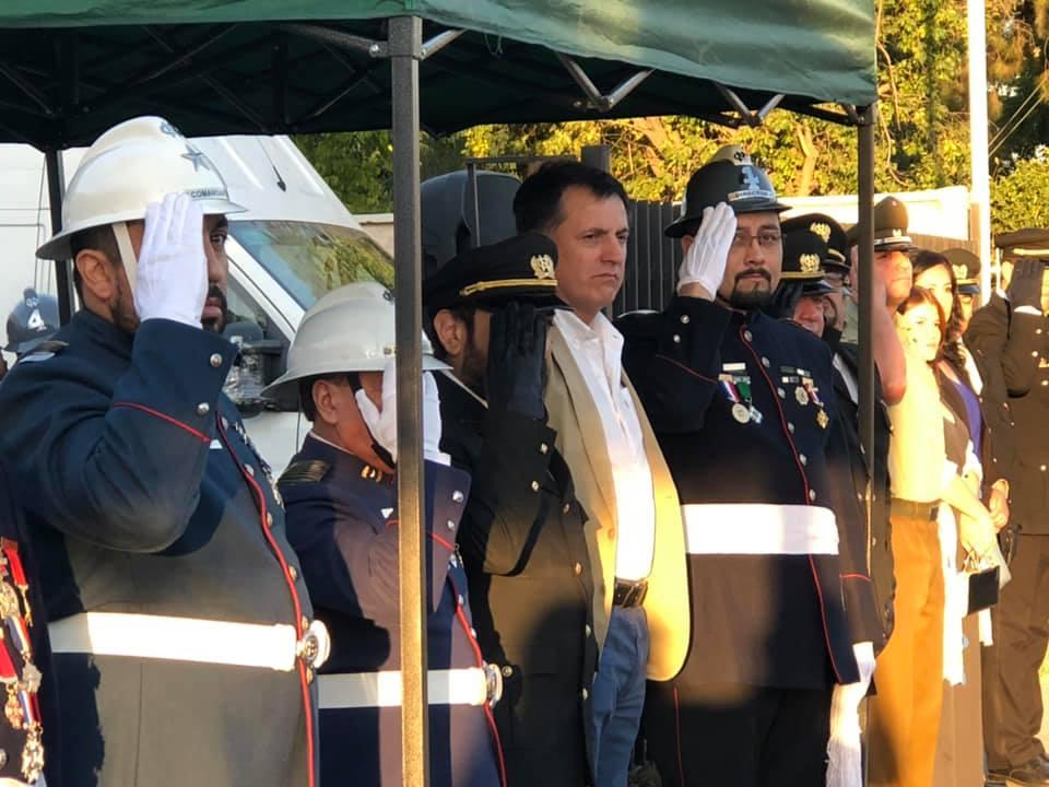 Alcalde Maximiliano Ríos en Ceremonia Solemne